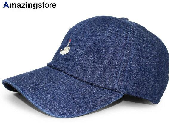 【全2色】7UNION 【FxxKSIGN BENT STRAPBACK/INDIGO DENIM】 7ユニオン セブンユニオン ストラップバック ロープロファイルキャップ LOW PROFILE CAP DAD HAT TWILL CAP [帽子 cap キャップ SEB17 17_9_3 17_9RE]