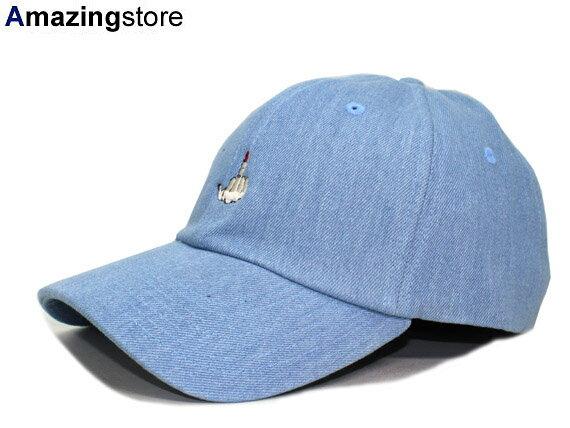 【全2色】7UNION 【FxxKSIGN BENT STRAPBACK/WASH DENIM】 7ユニオン セブンユニオン ストラップバック ロープロファイルキャップ LOW PROFILE CAP DAD HAT TWILL CAP ウォッシュデニム [帽子 cap 17_9_5 17_9RE]
