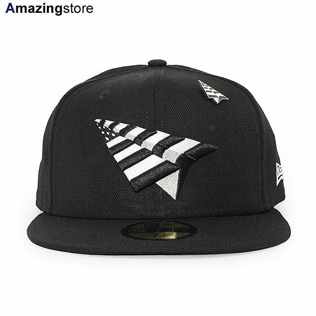 メンズ帽子, キャップ  59FIFTY PAPER PLANES THE ORIGINAL CROWN FITTED CAPBLACK NEW ERA ROC NATION 2024NE