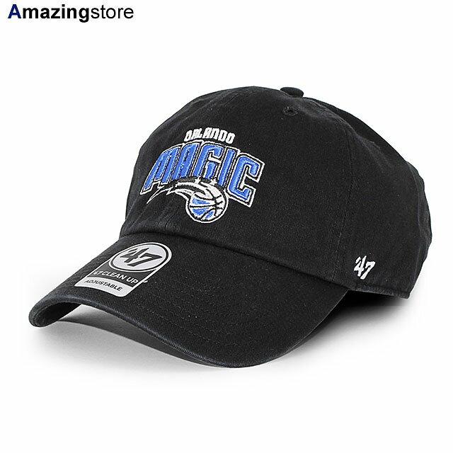 メンズ帽子, キャップ 47 NBA CLEAN UP STRAPBACK CAPBLACK 47BRAND ORLANDO MAGIC 2034FTS 2041