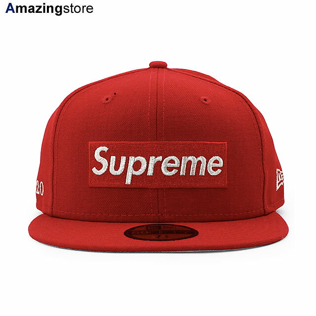 メンズ帽子, キャップ SUPREME 59FIFTY 1M METALLIC BOX LOGO FITTED CAPRED NEW ERA 204RE 205RE