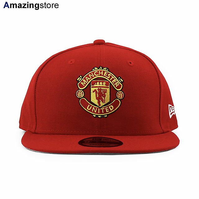 メンズ帽子, キャップ  9FIFTY FC PREMIER LEAGUE SNAPBACK CAPRED NEW ERA MANCHESTER UNITED FC 2142NE