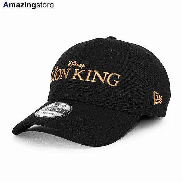 メンズ帽子, キャップ  9TWENTY TITLE STRAPBACK CAPBLACK NEW ERA DISNEY THE LION KING BLK 2173NE