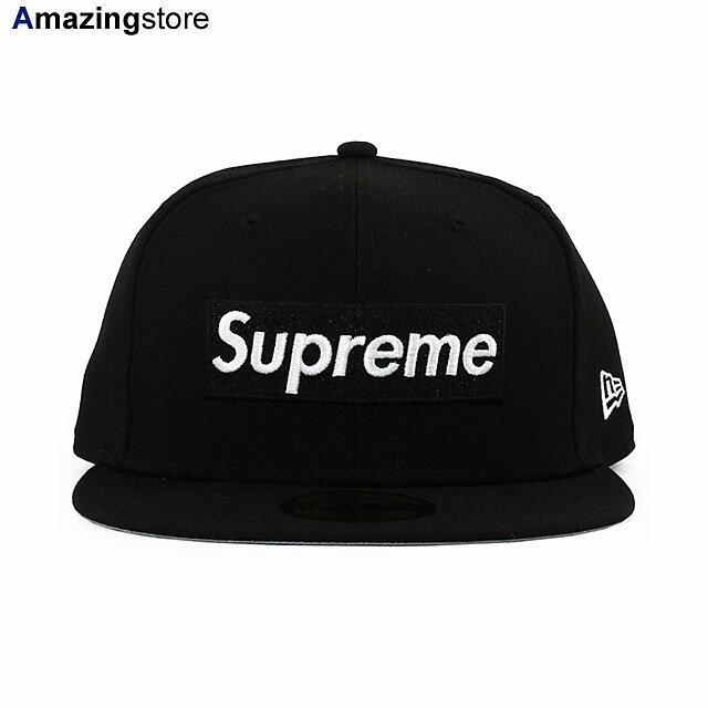 メンズ帽子, キャップ SUPREME 59FIFTY CHAMPIONS BOX LOGO FITTED CAPBLACK NEW ERA BLK COLORBOTTOM 2192SUP