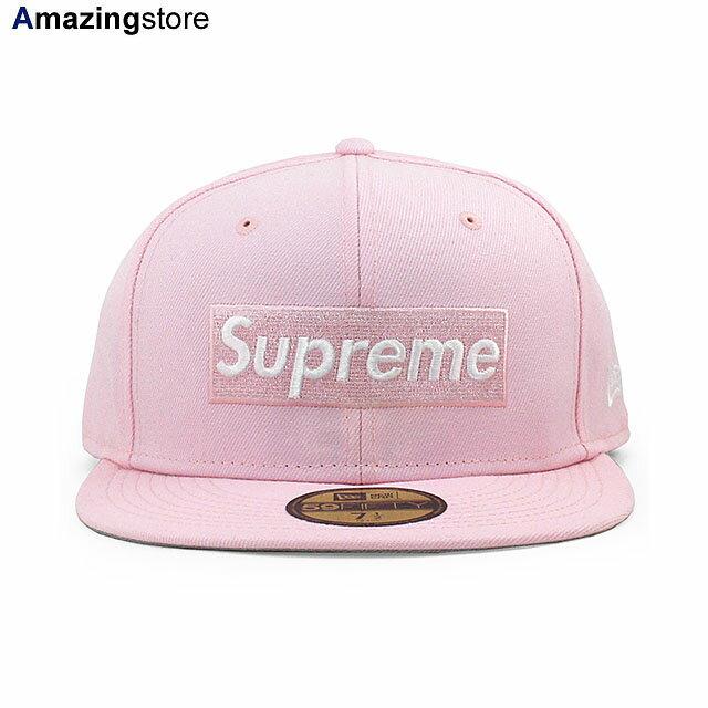 メンズ帽子, キャップ SUPREME 59FIFTY CHAMPIONS BOX LOGO FITTED CAPPINK NEW ERA COLORBOTTOM 2192SUP
