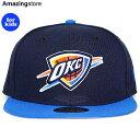【子供用】ニューエラ オクラホマシティ サンダー 9FIFTY スナップバック 【YOUTH NBA 9FIFTY TEAM-BASIC SNAPBACK CAP/NAVY-RYL BLUE】 NEW ERA OKLAHOMA CITY THUNDER [19_10RE 19_11RE]