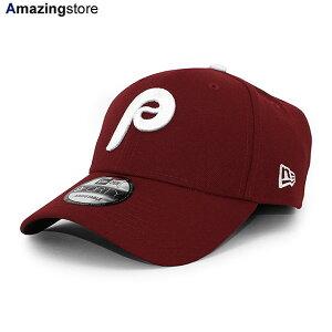 【男女兼用 あす楽】ニューエラ 9FORTY フィラデルフィア フィリーズ 【MLB THE LEAGUE ALTERNATE-2 ADJUSTABLE CAP/MAROON】 NEW ERA PHILADELPHIA PHILLIES マルーン [/BUR 20_5_3NE 20_5_4]