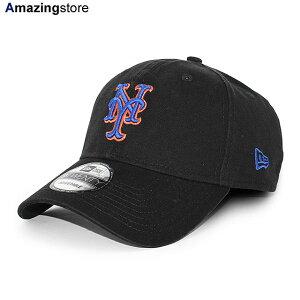 【男女兼用 あす楽対応】ニューエラ 9TWENTY ストラップバック キャップ ニューヨーク メッツ 【MLB CORE CLASSIC STRAPBACK CAP/BLACK】 NEW ERA NEW YORK METS ブラック [/BLK 20_5_3NE 20_5_4]