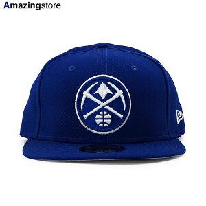 ニューエラ 9FIFTY スナップバック キャップ デンバー ナゲッツ 【NBA TEAM-BASIC SNAPBACK CAP/RYL BLUE-WHITE】 NEW ERA DENVER NUGGETS ブルー [20_7_2NE 20_7_3]