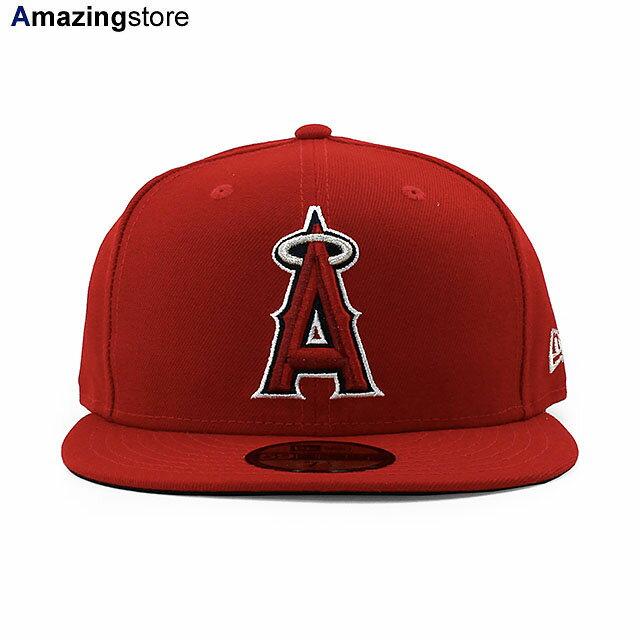 【あす楽対応】大谷翔平選手所属チーム 帽子 メンズ ニューエラ 59FIFTY ロサンゼルス エンゼルス 【MLB ON-FIELD AUTHENTIC GAME FITTED CAP/RED】 NEW ERA LOS ANGELES ANGELS レッド [20_7RE]画像