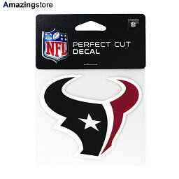 ウィンクラフト ステッカー ヒューストン テキサンズ 【HOUSTON TEXANS NFL PERFECT CUT DECAL】 WINCRAFT [for3000 20_9_1ACC 20_9_2]