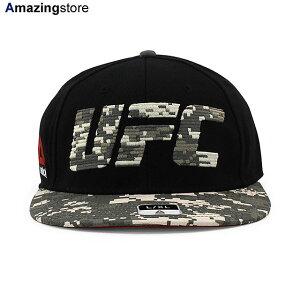 【あす楽対応】リーボック UFC 【FLAT VISOR FLEX/BLACK-DIGITAL CAMO】 REEBOK FITTED CAP ブラック カモ [/BLK 20_9RE]