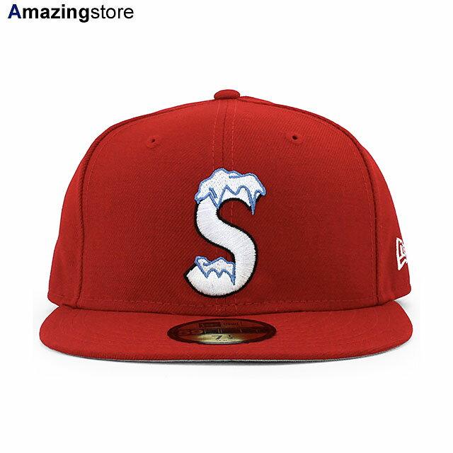 メンズ帽子, キャップ SUPREME 59FIFTY S LOGO FITTED CAPRED NEW ERA 2095SUP 20101