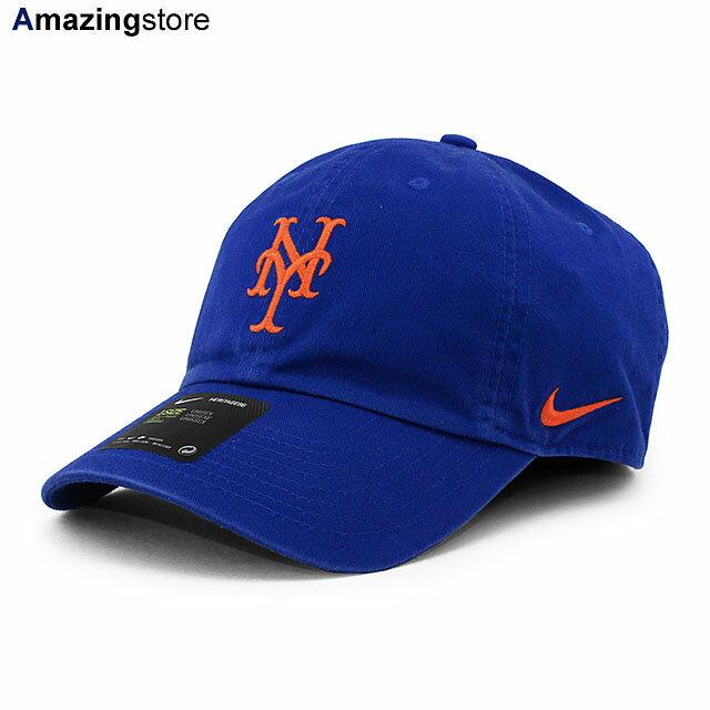 メンズ帽子, キャップ  MLB HERITAGE 86 LOGO STRAPBACK CAP H86RYL BLUE NIKE NEW YORK METS 2110RE211008