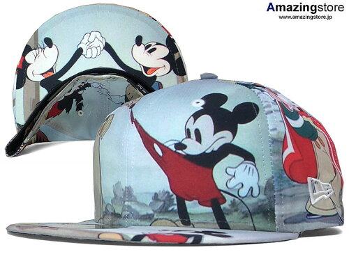 NEW ERA ニューエラ DISNEY ディズニー MICKEY MOUSE ミッキーマウス 【帽...