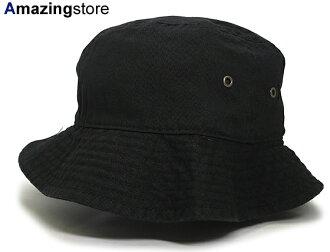 NEWHATTAN new Hatten solid bucket Hat [Hat headgear cap Cap large size mens ladies headwear incl. 1,944 Yen New York NEW YORK cotton 100% P06Dec14]