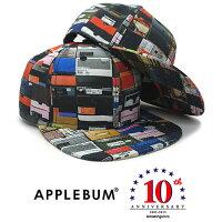 APPLEBUMAmazingstore【10thAnniversaryEXCLUSIVEK.B.A.S6PANELSNAPBACK/MULTI】アップルバムアメイジングストア10周年記念スナップバック