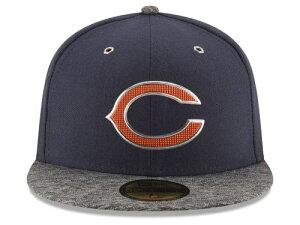 NEW ERA CHICAGO BEARS 【2016 NFL DRAFT/NAVY-DARK HEATHER GREY】ニューエラ シカゴ ベアーズ ドラフト 59FIFTY フィッテッド キャップ FITTED CAP AUTHENTIC [帽子 ヘッドギア メンズ 16_4_2DRF16_4_3]