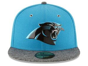 NEW ERA CAROLINA PANTHERS 【2016 NFL DRAFT/C BLUE-DARK HEATHER GREY】ニューエラ カロライナ パンサーズ ドラフト 59FIFTY フィッテッド キャップ FITTED CAP AUTHENTIC [帽子 ヘッドギア メンズ 16_4_2DRF16_4_3]