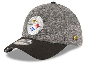 NEW ERA PITTSBURGH STEELERS 【2016 NFL DRAFT/DARK HEATHER GREY-BLK】 ニューエラ ピッツバーグ スティーラーズ ドラフト 39THIRTY AUTHENTIC オンフィールド ON FIELD [帽子 ヘッドギア メンズ 16_4_3DRF 16_4_4]
