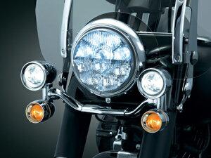 【ヘッドライト】ドライビングライトファットボーイ用本体ハーレーパーツ