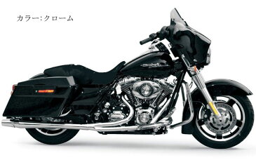 【1064sb】サンダーヘッダー ツーリングモデル用 ブラック 2009年ツーリング ハーレー