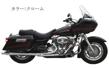 【1054sb】サンダーヘッダー ツーリングモデル用 ブラック 2007〜08年ツーリング ハーレー