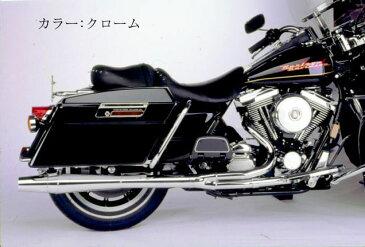 【1024sb】サンダーヘッダー ツーリングモデル用 ブラック 1984〜06年ツーリング ハーレー