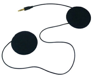 B+COMヘルメット用ステレオスピーカーセット