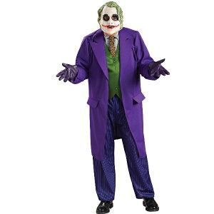 バットマン ダークナイト ジョーカー デラックス 衣装、コスチューム コスプレ (男性用)
