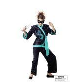 JEWEL DRAGON NINJA 忍者 和風 衣装、コスチューム 子供女性用|63-4