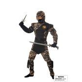 SPECIAL OPS NINJA 忍者 和風 衣装、コスチューム 子供男性用|69-1、