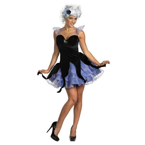 リトル・マーメイド アースラ 衣装、コスチューム 大人女性用 ディズニー Sassy Ursula|304-2