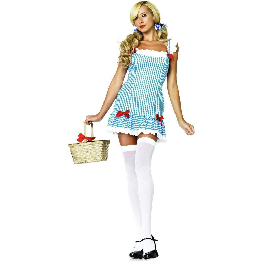 ドロシー風 衣装、コスチューム 大人女性用 オズの魔法使い Darling Dorothy コスプレ画像