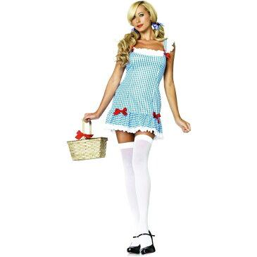 ドロシー風 衣装、コスチューム 大人女性用 オズの魔法使い Darling Dorothy