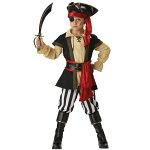 海賊パイレーツ衣装、コスチューム子供男性用PirateScoundrelElite