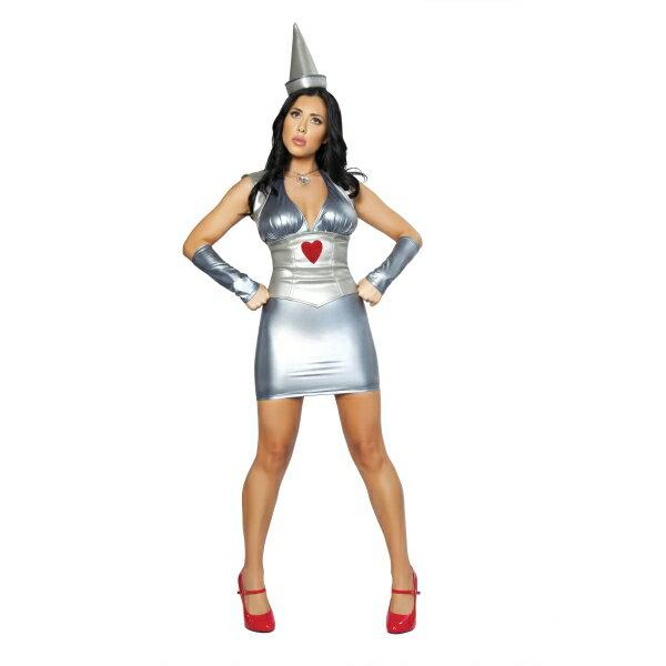 オズの魔法使い風 ブリキの木こり 衣装、コスチューム 大人女性用 Metal Miss コスプレ画像