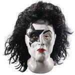 KISSStarchildヘアー付きフルマスク歌手大人用