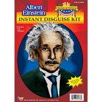 アインシュタイン 歴史上の人物アクセサリーキット ウィッグ、かつら ホワイト