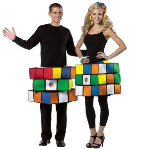 ルービックキューブ 大人用 衣装、コスチューム