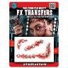裂けた顔  リアルなメイクシール ホラー 3D FX Transfers|M9