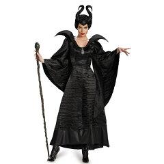 マレフィセント 衣装、コスチューム Deluxe 大人女性用 マレフィセント
