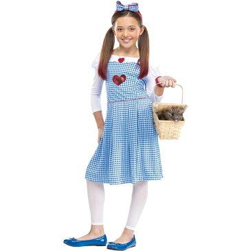 ドロシー 衣装、コスチューム 子供女性用 オズの魔法使い DOROTHY