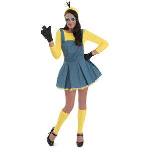 ミニオン衣装、コスチューム大人女性用MinionsJumperWomen'sCostume怪盗グルー