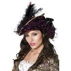 海賊帽子 紫 リボン 大人女性用 Fever Marauding Pirate Hat
