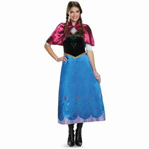 アナアナと雪の女王衣装、コスチューム大人女性用Deluxe