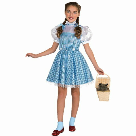 957a10b560c9f ドロシー 衣装、コスチューム 子供女性用 オズの魔法使い DOROTHY SEQUIN