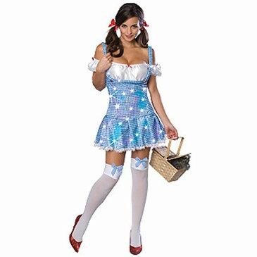 ドロシー・ スパンコール 衣装、コスチューム 大人女性用 オズの魔法使い