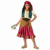 海賊 ジプシー・ガール 衣装、コスチューム 子供女性用