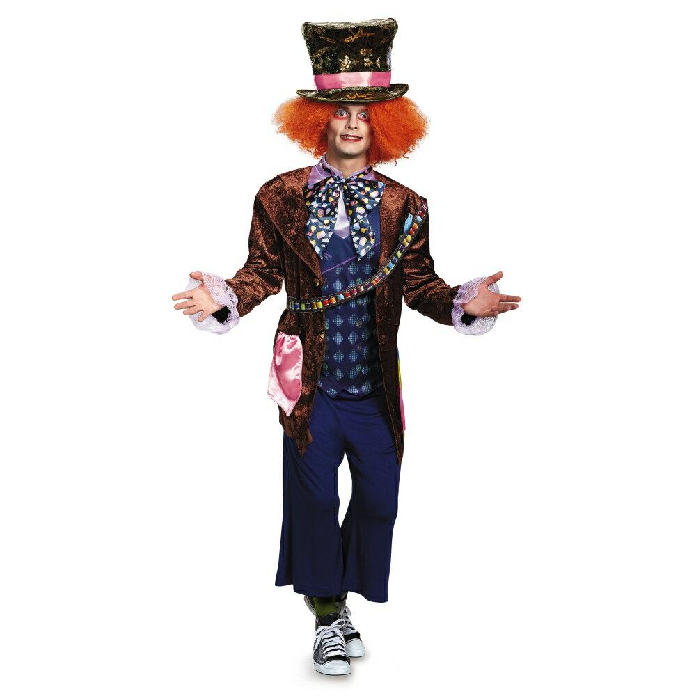 マッド・ハッター 衣装、コスチューム 大人男性用 Deluxe アリス・イン・ワンダーランド ディズニー ハロウィン